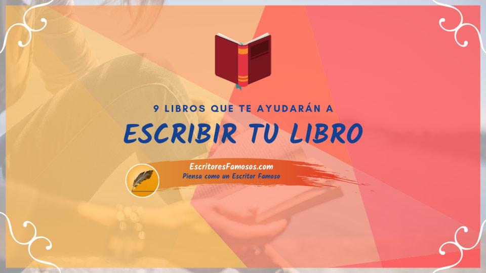 9 libros que te ayudarán a terminar tu libro